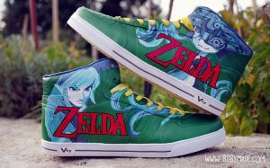 Twilight Princess Sneakerz by Bobsmade