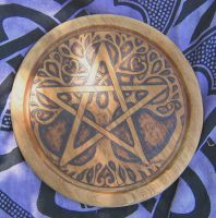 Tree of Life Pentacle by lapis666