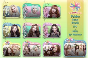 Hello Venus Folder Icon Pack by Rizzie23