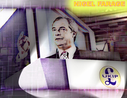 Nigel Farage by FlipswitchMANDERING