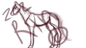 WIP-Horse by WolfxTracks