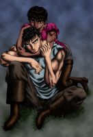 Gattsu and Casca by DrPepperPro