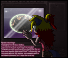 Space comic intro by SparDanger