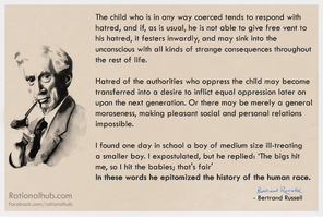 Bertrand Russell on child abuse.. by rationalhub