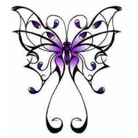 Butterfly tatoo by Ginerva16