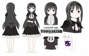 Homulilly Concept Art by friendly-girl95