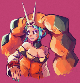 STRONGWIFE by boyvirus