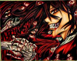 Alucard, 'Let Me Show You What A True Vampire Is.' by ANiMExFReaKx115