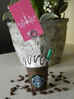 Starbucks Coffee Card Holder-Decoden-Java Chip by ThePetiteShop