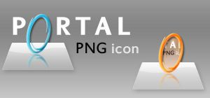 Portal Dock Icon by SlimTrashman
