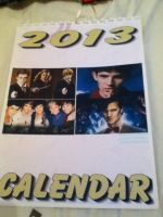 Merlin/HP/1D/Dr. Who Calendar - Front by GryffindorPrincess74