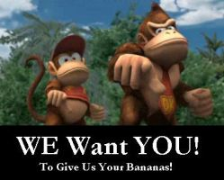 DK wants YOU by ClassicKid