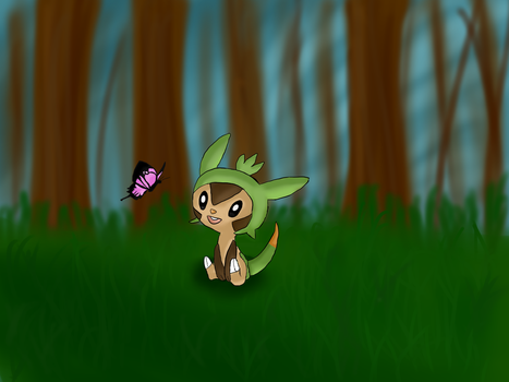 Chespin by amarusu