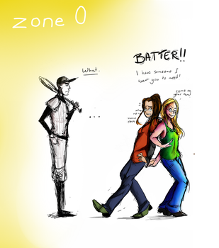 Zone 0 - collab and fanart by frisca-freak