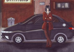PoF - A man and his car by InnocentiaSanguinis