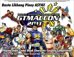 Pinoy Heroes on GTMACCon by gioparedes