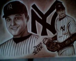 DEREK JETER DRAW by H3cT0r-Dibujos