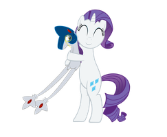 Rarity Hugging Genuine-Azelf by GeoNine