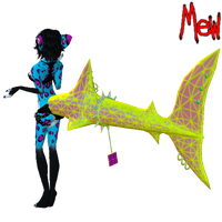 Derivable Shark Tail by lonelycard