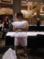 Metrocon 2012 - My Pillow by JavaCosplay