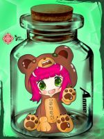 Reverse Annie in the bottle by NPrinny