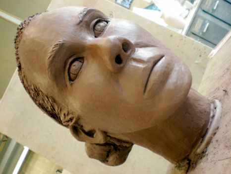 clay head view 6 by manx0meFoe
