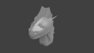 Dragon 3D by selftaughtartist1
