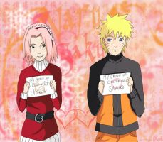 Narusaku: Christmas list by Celious