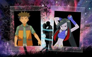 Brock and Lucy Wallpaper by weissdrum