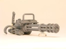 T2 mini gun front by OliverBrig