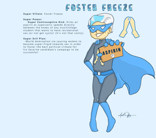 Doodle: Super Villain Foster Freeze by 8manderz8