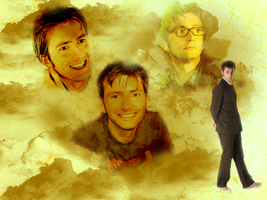 David Tennant Wallpaper by Carly23