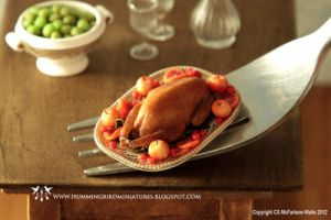 Miniature roast goose by CaroMcFW