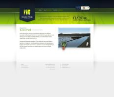 Kauri Park Website by F4LLENNZ