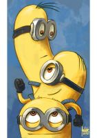 Daily Sketches Minions by fedde