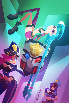 Cops and Robber by Versiris