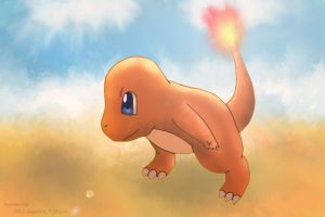 Charmander, Journey to the West by Autumn-Aki