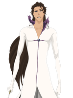Sosuke Aizen Hollow Vector Colouring PNG by TattyDesigns
