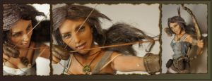 Lara Croft 2013 closeups by MarylinFill