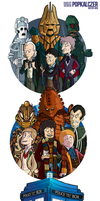 CLASSIC Doctor Who by rsienicki