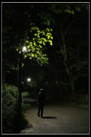 Walking Alone by madcow6