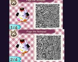 Page the Notepad pattern 1 by NeonRedWings