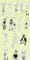 Adoptables [closed] by HJeojeo