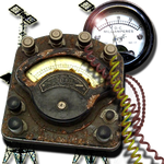 Steampunk Wireless Connection Manager Icon by yereverluvinuncleber