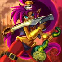 Pirate Shantae by HipsterAnt
