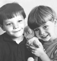 Larry as children by DirectionForLyfe