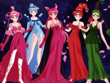 Sailor Scout Mistresses extra by Lovely-Girl-10