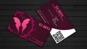business card by staphylococcal