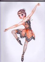 Butterfly Ballerina by Mayonnais