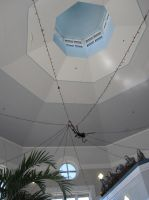 Giant Spider in web of Lights by AxelHonoo